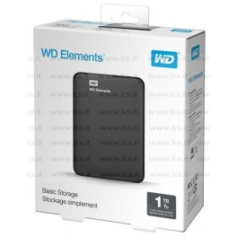 HDD esterno WD Elements Portable 1TB