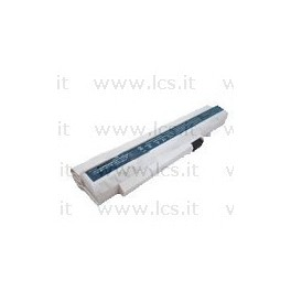 Batteria Acer Aspire ONE A110 A150 D150 D210 D250, Compatibile, Bianca 5200mAh, 6 celle