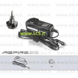 Alimentatore ACER 40W ADP-40TH Aspire ONE 521 532H 533 753 D255 D260 19V 2.15A