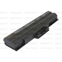 Batteria Sony vgp-BPS21A e vgp-BPS13 Compatibile 10,8V 5200mAh Nera