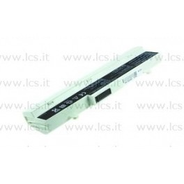 Batteria Asus Eee PC 1005HA 1001PX 1101HA, 6 Celle, Bianca, Compatibile
