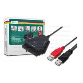 Cavo Adattatore USB 2.0 to SATA + IDE, CAVO ADATTATORE DA USB 2.0 A IDE E SATA