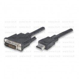 Cavo Video HDMI - DVI-D (19 pin M/M), 1.8 MT