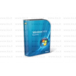 Microsoft Windows Vista Business Aggiornamento, BOX DVD Italiano, 32 Bit, 66J-00097