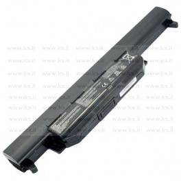 Batteria Asus K55 Notebook series, A32-K55, 5200mAh 6 Celle, Nera, Compatibile