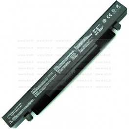Batteria Asus F550CC, X550CC Notebook series, A41-X550A, 2200mAh 4 Celle, Nera, Compatibile