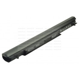 Batteria Asus K56C Notebook series, A41-K56, 2600mAh 4 Celle, Nera, Compatibile