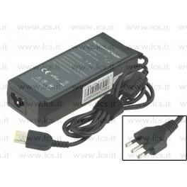 Alimentatore LENOVO 20V 4.5A 90W ThinkPad E531 E540 L540 S440 S531 S540 T431s T440p T540p X240s X1, Rettangolare, Compatibile