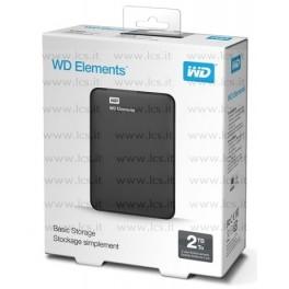 HDD esterno WD Elements Portable 2TB