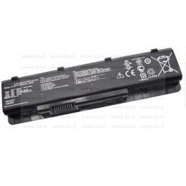 Batteria Asus N45SF, N45SL, N55SF, N55SL, N75SF, N75SL Notebook series, A32-N55, 5200mAh 6 Celle, Nera, Compatibile